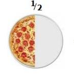 fracción pizza 1