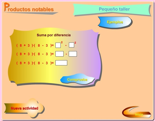 PRODUCTOS NOTABLES 2