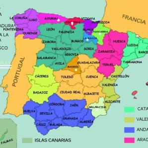 ESPAÑA PROVINCIAS
