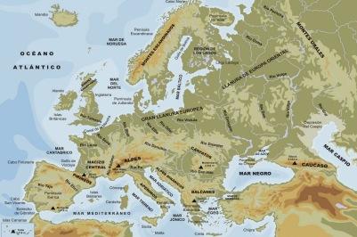 EUROPA FÍSICO