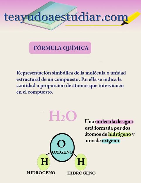 FORMULA QUIMICA