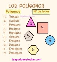 Nombre de los polígonos